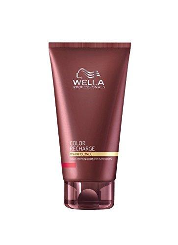 Wella Professional Care Color Recharge Color Risch llameo Ender Conditioner para calientes Rubio tonos, 1er Pack (1x 200ml)