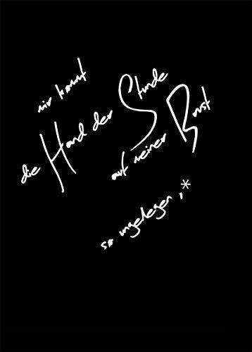 mir kommt die Hand der Stunde auf meiner Brust so ungelegen, dass ich im Lauf der Dinge beinah mein Herz verwechsle: Lyrikband in zwölf Kapiteln, mit farbigen Illustrationen von Hannah Medea Breier - Zeitgenössische Brust