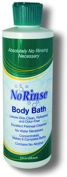 No-rinse Body Bath (No-Rinse Body Bath With Odor Eliminator /8 oz. by Cleanlife)