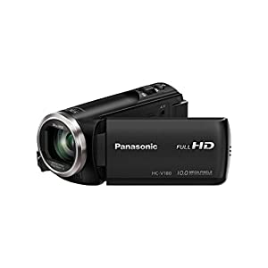 Panasonic-HC-V180EG-K-Full-HD-Camcorder-15-8-Zoll-Sensor-Full-HD-50x-optischer-Zoom-28-mm-Weitwinkel-opt-5-Achsen-Bildstabilisator-Hybrid-OIS-schwarz