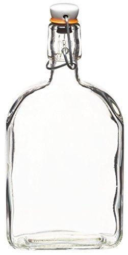 Kitchen Craft KCHMBOT7 - Botella de cristal con tapa de cerámica, 500