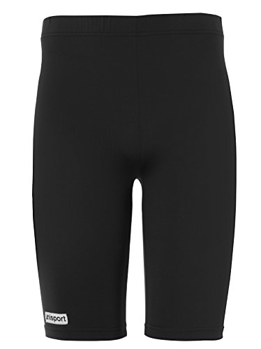 uhlsport unisex Tight Shorts, Schwarz (Black), Gr. M