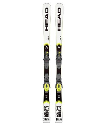 HEAD Skier Worldcup Rebels i.SLR + Bindung PR 11 GW Weiss (100) 165