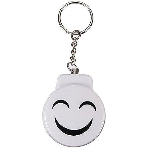LIKECAR Mini Anti stupro attacco di sicurezza Personal allarme protezione allarme sorriso Keychain One Pair/2pcs appositamente per autodifesa situazioni di emergenza. Buona qualità includere batteria. Consegna rapida.
