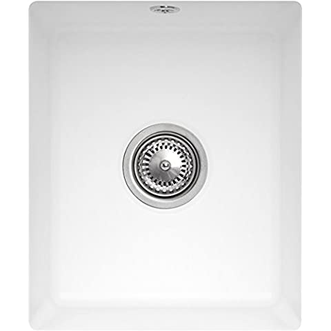 Villeroy & Boch Subway 45 SU SOTTOTOP lavello in ceramica/Edelweiss Classic Line/Excenter