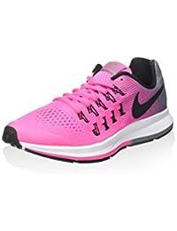 Nike Zoom Pegasus 33 (Gs), Zapatillas de Deporte Niñas