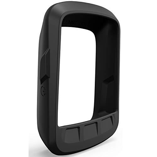 TUSITA Hülle für Wahoo Elemnt Bolt - Silikon Schutzhülle Skin - GPS Bike Computer Zubehör (SCHWARZ)