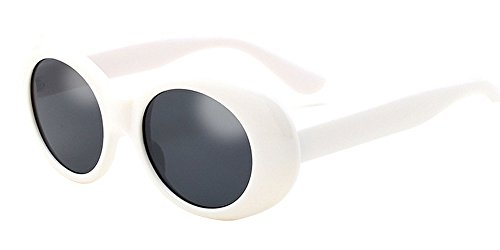 796d2527d7 ... Curt Kobain Outfit Fancy Dress. related-product. BOZEVON Retro UV400  Women   Men Oval Sunglasses Goggles