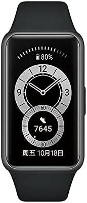 Per Huawei Band 6 smart band Frequenza Cardiaca Tracker BT 5.0 Sonno monitoraggio impermeabile Fitness tracker