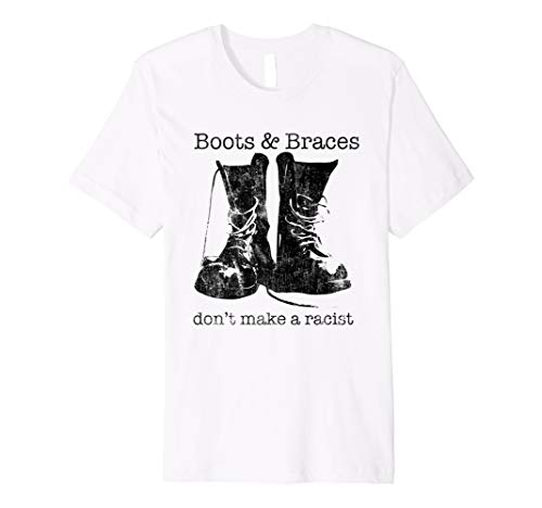 Boots & Braces Shirt - Skinhead T-Shirt - Anti-racist skins