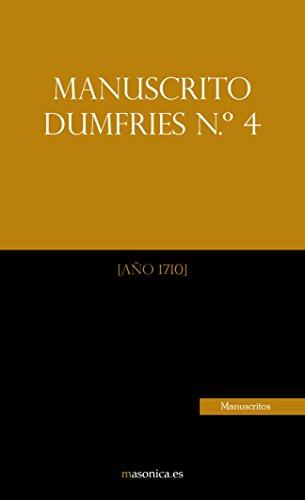 Manuscrito Dumfries n.º 4 por ANÓNIMO