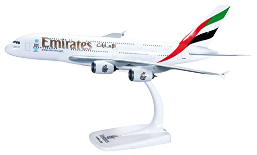 Herpa 607018 - Modellino Aereo Emirates Airbus A380-800
