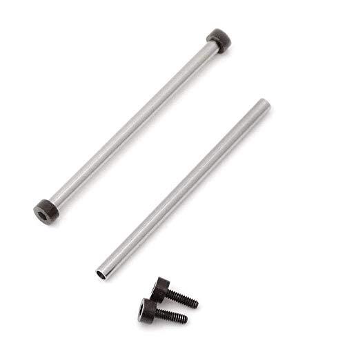 Strapcode-Röhren und Schwarze PVD-Sechskantschrauben für Bell & Ross BR-01 (EIN Paar)