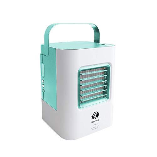 Myfilma ◔◡◔ USB-Lade-Klimaanlagenlüfter Mini Tragbarer Kühlschrank Luftkühler Nano-Lüfter Luftkühler Mini-Klimaanlage -