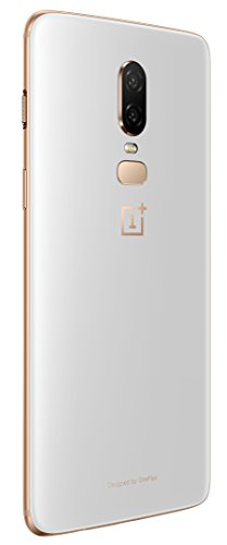 OnePlus 6 (Silk White, 8GB RAM, 128GB Storage)