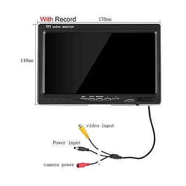 LDQLSQ LITBest 800 Mit Kabel TV-Ausgang 7 Zoll Handbrause 800 * 480 Pixel One to One-Video-Türsprechanlage