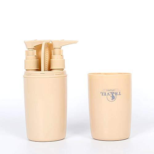 Portable voyage brosse à dents étui multifonctionnel brosse à dents organisateur dentifrice porte boîte de rangement pour camping randonnée-sans autres accessoires-couleur aléatoire