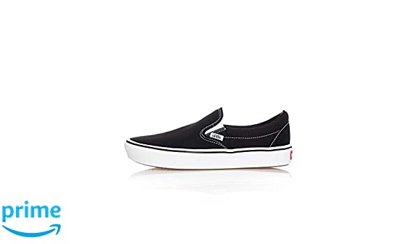 Vans UA ComfyCush Slip On (Classic) BlackTrue White 12