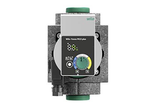 Wilo-Yonos PICO plus 25/1-4, Hocheffiziente Heizungspumpe, Nassläufer-Umwälzpumpe, Baulänge 180mm