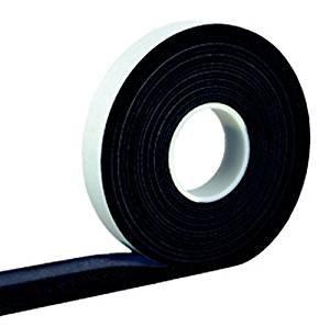 5,6m Komprimierband 30/6 Bandbreite 30mm, Acryl 300, expandiert von 6 auf 30mm, anthrazit, vorkomprimiertes selbstklebendes Dichtungsband Kompriband Fugendichtband Fensterdichtband Quellband