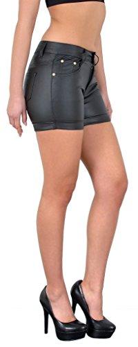 femmes shorts en cuir imitation femme skinny hotpants femmes mini shorts femme hot pants en cuir H35 H106