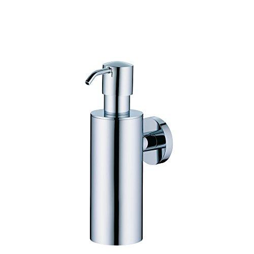 Kela 20594 Wand-Seifenspender Maris 200 ml aus Messing verchromt mit Messingpumpe - Chrom Wand-seifenspender