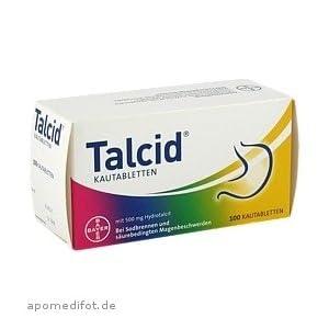 Talcid Kautabletten 100St