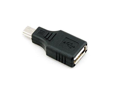 eforcity POTHUSB5FMAD Adaptador de Cable USB A USB Mini B Negro - Adap