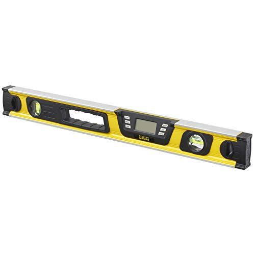 Stanley FatMax digitale Wasserwaage 60cm 0-42-065 - Neigungsmesser - Hohe Messgenauigket & Messbereich - Messung in Grad - Prozent - mm/m