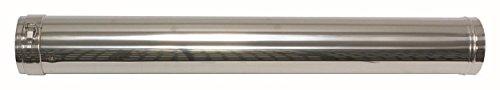 Vaillant 0020042754Rallonge 80/125mm, PP/Acier inoxydable 1000mm
