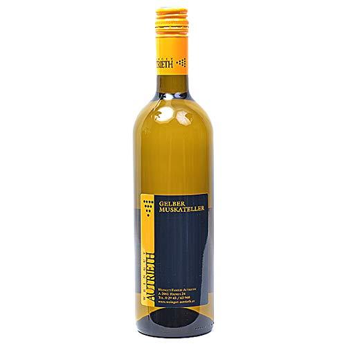 Weingut Autrieth Gelber Muskateller 0,75l Weißwein trocken Österreich Weinviertel