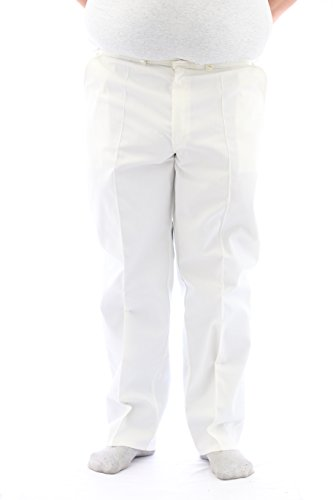 Alexandra - Pantaloni - Uomo bianco 55