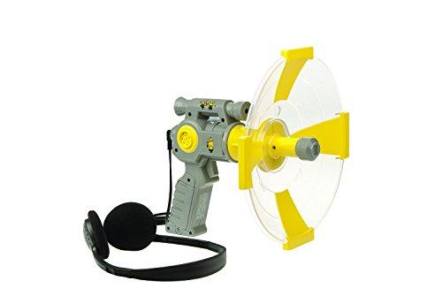 Lexibook rpdes008 - amplificatore audio cativissimo me 3, set da spia per bambini, cuffie, grigio/giallo