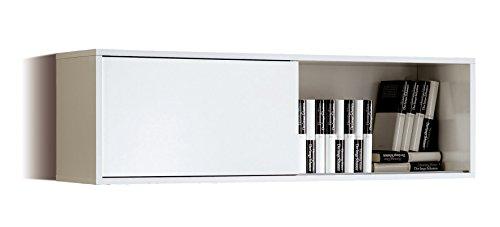 Opiniones estanteria modulo alto aereo de salon comedor for Modulos salon blanco