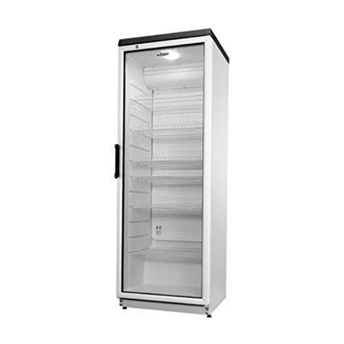 Whirlpool Profi Glaskühlschrank Kühlschrank ADN 201-2 350L Kühlung mit Glastür