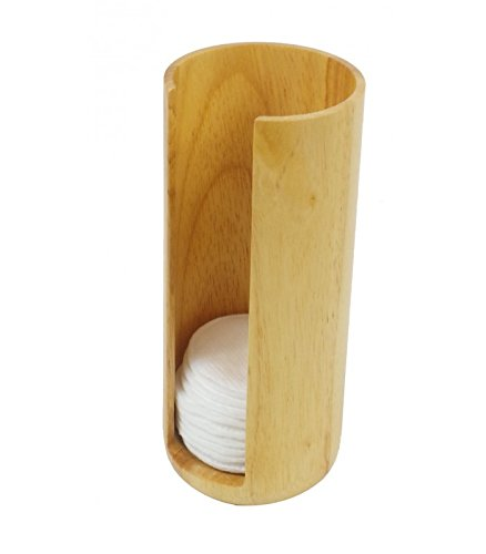 Opportunity 42b13041100-Spender Baumwolle Festplatte Holz beige 7x 7x 17cm -