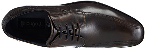 Bugatti - R35061, Scarpe stringate Uomo Marrone (Marrone (Marrone scuro 610))