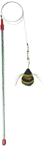 Go Cat Da Bee Teaser Zauberstab aus der Maker von Da Bird und Cat Catcher–zufällige farbigen Zauberstab