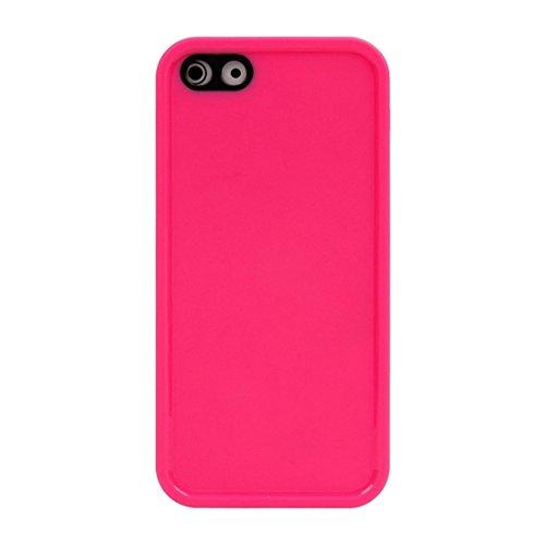 Wkae Case & Cover Pour iPhone 5 &5S &SE Housse de protection TPU souple, Vie étanche ( SKU : IP5G2500W ) IP5G2500M
