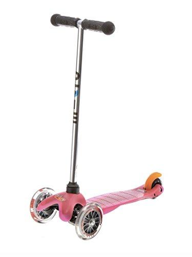 Micro Mini Trottinette 3 roues fille Rose