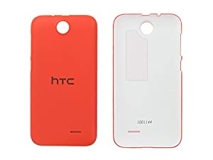 HTC Desire 310 (D310n), Desire 310 Dual Sim Akkudeckel, Battery Cover, Backcover, Orange