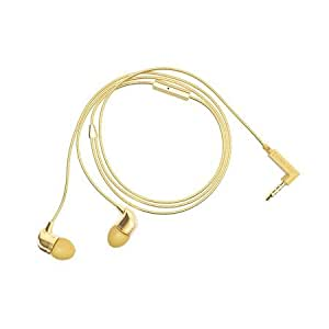 CRW UNIVERSAL HANDSFREE WITH MIC AND 3.5 mm JACK (GOLD)