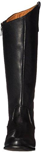 Sebago Plaza Tall Boot, Stivali da Equitazione Donna Nero (Black Leather)
