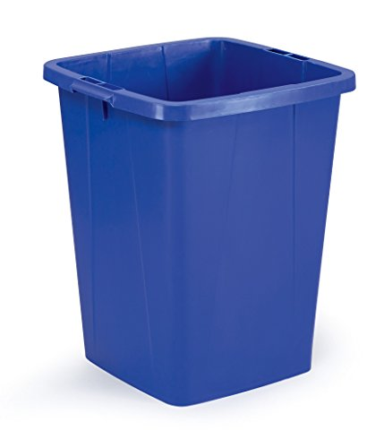 Durable 1800474040 Durabin - Cubo de la Basura, 90 L, Color Azul