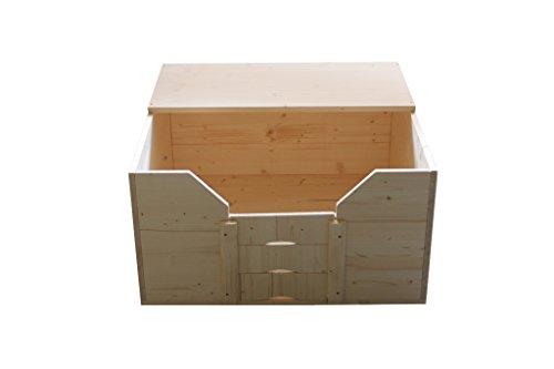 Artikelbild: Easy-Hopper Wurfbox / Welpenbox / Schlafplatz 'Standard' 80x80cm mit Abdeckplatte