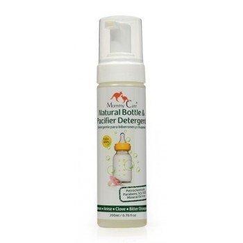 Detergente Natural para Botellas y Chupones 200 ml Esterilizador de Biberones Natural: desinfecta y limpia botellas sin utilizar productos químicos agresivos: el mejor limpiador de biberones