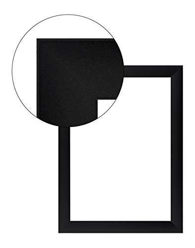 Olimp PRORSUS 35mm Bilderrahmen 21x16 cm in Schwarz matt mit Antireflex-Acrylglas (Bilderrahmen 20 X 16)