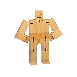 Suck UK AREAWARE Cubebot aus Naturholz, Micro dwc1