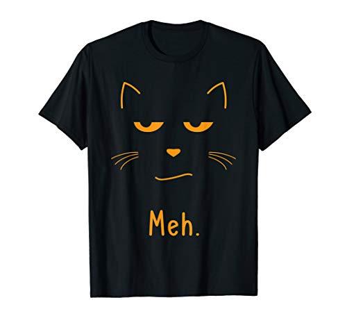 Meh Katze Liebhaber Kitty Sarkastische Gesicht - Kitty Katze Gesicht Kostüm