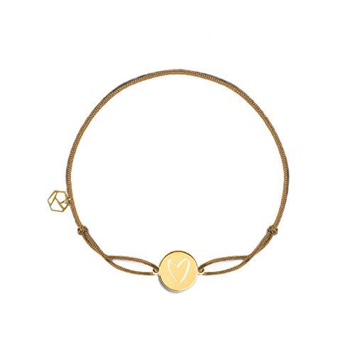 prettique Stoffarmband – beige